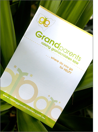 Karen Shear Print Design - Grandparents Raising Grandchildren NSW Report and Program